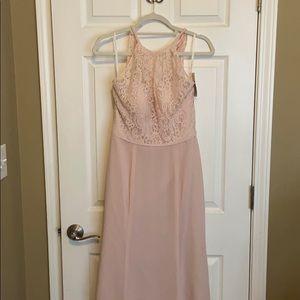 NWT Dessy Pink Dress